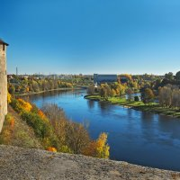 Ивангород-Нарва. :: Андрей Черемисов
