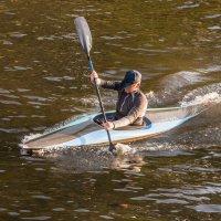 Мужчина с веслом.))) :: ФотоЛюбка *