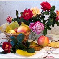 Натюрморт с розами... :: Тамара (st.tamara)