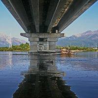 Под животом моста :: val-isaew2010 Валерий Исаев