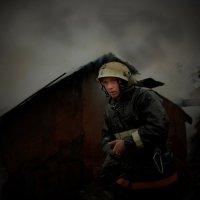 Ночной пожар :: Валерий Талашов