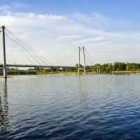 Красноярск,мост на ост.Татышев :: Олег Мартоник
