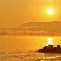 Осенний восход :: Александр Попов
