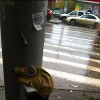 противогаз сломан ( :: Anna Vologina