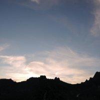Ночная панорама Спящего Саяна :: Сергей Карцев