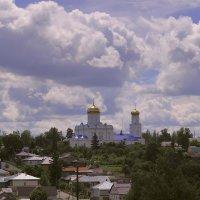 Елец. Вид на город из женского монастыря. :: Андрей