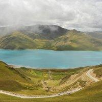 озеро Ямдрок Цо. Тибет :: Ирина Токарева