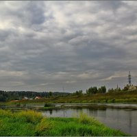 на Москве реке :: Дмитрий Анцыферов