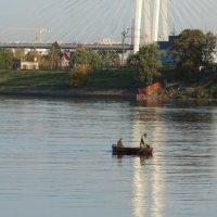 Утро на Неве. :: Владимир Гилясев