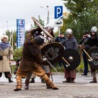 Битва за место на парковке :: Валентина Илларионова (Блохина)