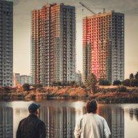 Рыбалка на закате :: Alexandr Tarabrin