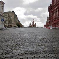 Московская осень и Красная Площадь :: Angelika Faustova
