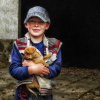 мальчик с собачкой :: Василий Алехин