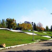 В парке на речном вокзале . :: Мила Бовкун