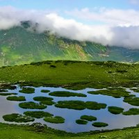 Горное озеро :: Светлана Юрьевна