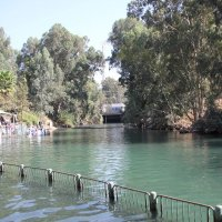 Иордан - место крещения Иисуса Христа упоминается в Евангелии как Вифавара . :: vasya-starik Старик
