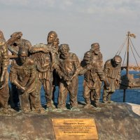 Скульптурная композиция «Бурлаки на Волге» :: Николай Алехин