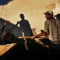 Стройка в Бухаре. :: Алексей Бушов