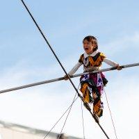 Трехлетняя канатоходка 4 :: Александр Неустроев
