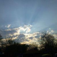 Солнце сквозь тучи :: Наталия Жукова