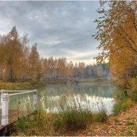 Осень на лесном озере :: Nikita Volkov