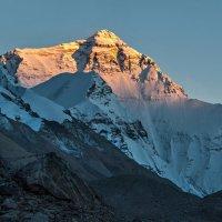 Эверест на закате. :: Ирина Токарева