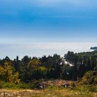 Вид на море от Ново-Афонского монастыря :: Андрей Гриничев
