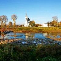 Вид на реку Вологда с Соборной горки :: Татьяна Копосова