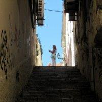 Лестница     מדרגות :: vasya-starik Старик