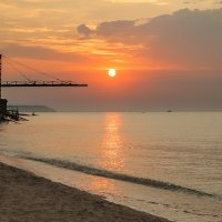 Восход над Азовским морем :: Олег Зак