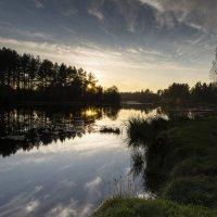 вечер на озере :: ник. петрович земцов