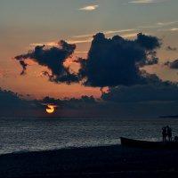 Здесь горизонт всегда особо, беспредельно, бесконечен :: Ирина Данилова