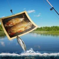 Вот такую  надо приносить с рыбалки :: Лидия (naum.lidiya)