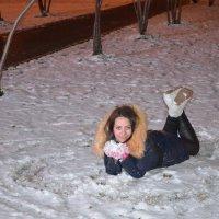 первый снег :: Татьяна Кузова