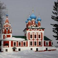 Углич. Церковь Димитрия на Крови :: Олег .