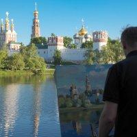 Новодевичий монастырь :: Ирина Корнеева