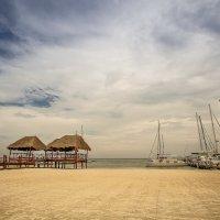 После дождика...Карибы.Мексика. :: Александр Вивчарик