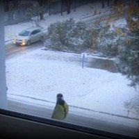 Смотрите , снег выпал ! :: Мила Бовкун