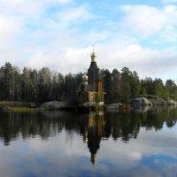 Церковь на Вуоксе :: Наталья Левина