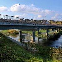 Новый мост через р.Чусовую, п.Староуткинск. :: Пётр Сесекин