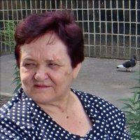 Портрет с голубем :: Нина Корешкова
