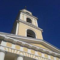 Церковь, колокольня в Нило-Столобенской пустыни :: Марина Мамзина (Калета)