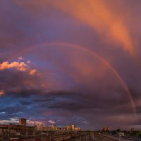 Панорама с радугой :: Nn semonov_nn