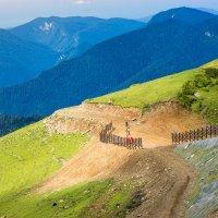 Высоко в горах... :: Андрей Зименков