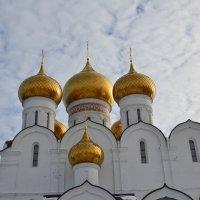 Купола Успенского сабора г.Ярославля :: Anton Сараев