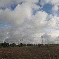 Ветряки по дороге в Берлин :: Яна Чепик