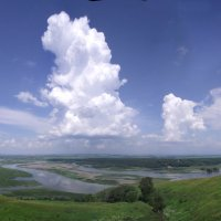 Башни в небе :: Иля Григорьева