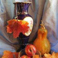 Кобальт  и  Октябрь :: Ирина Сивовол