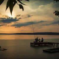 Вечерок на реке Свислочь :: Елена Ерошевич