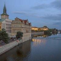 Вечер в Праге... :: Марина Назарова